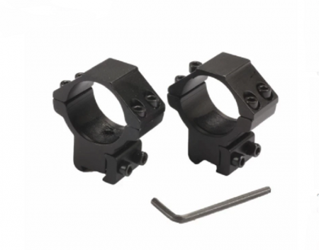 Optikas kronšteini 11 uz 30 mm