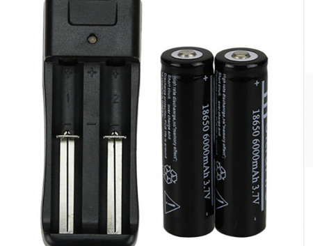 18650 Akumulatoru komplekts