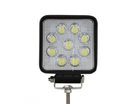 LED lukturis / 10-30V / 27W /
