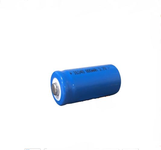 CR 123A lādējamais akumulators