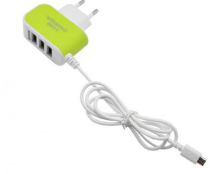 USB sienas lādētājs